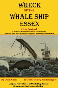 Wreck of the Whale Ship Essex - Illustrated Kindle and paperback; Audible format coming soon.