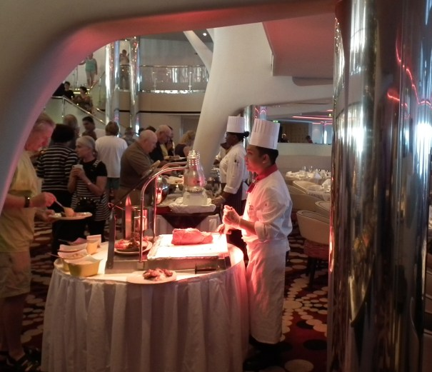 In spite of what some insane reviewers post on Cruise Critic, there area really no bad cruises or ships but plenty of bad cruisers. Celebrity really does pamper its passengers at every turn. The brunches on Celebrity are a great experience. THE PRIVATEER CLAUSE photo