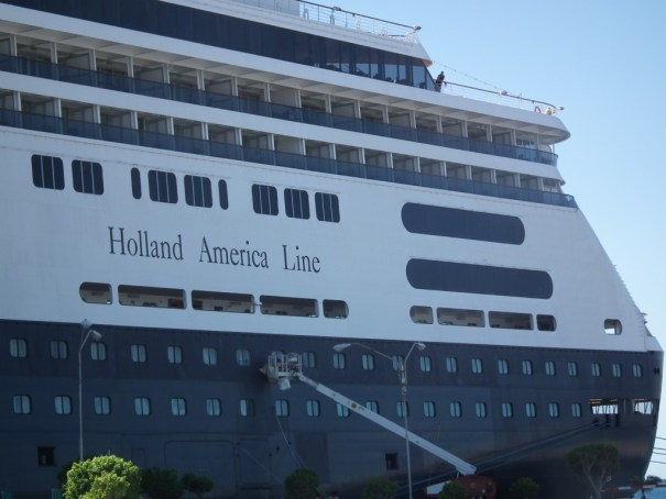 The Holland-America Amsterdam is a great way to arrive at this Dutch island of Curacao. THE PRIVATEER CLAUSE photo