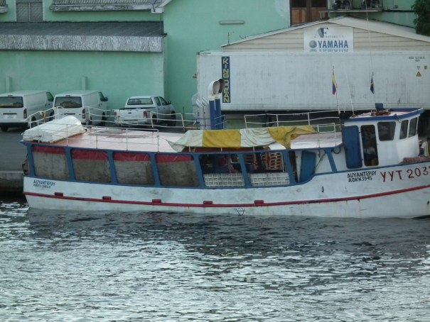 The fishing boats and inter-island freighters in port in Curacao provide plenty of backdrop for a great visit. THE PRIVATEER CLAUSE photo