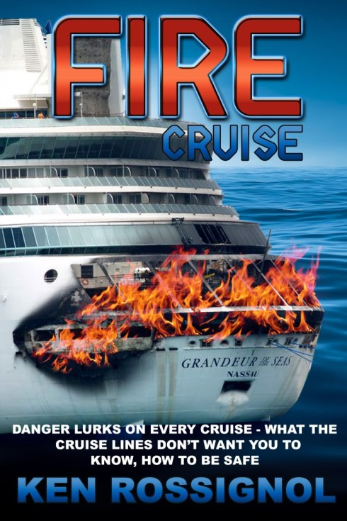 FIRE CRUISE available in Kindle, paperback and Audible
