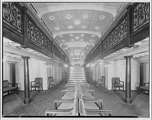 Norfolk & Washington Steamboat Co. interior