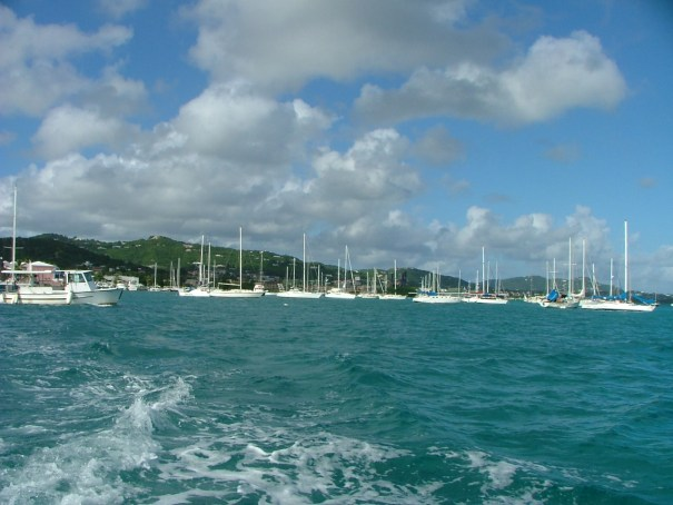 St. Croix harbor at Christiansted. THE PRIVATEER CLAUSE photo