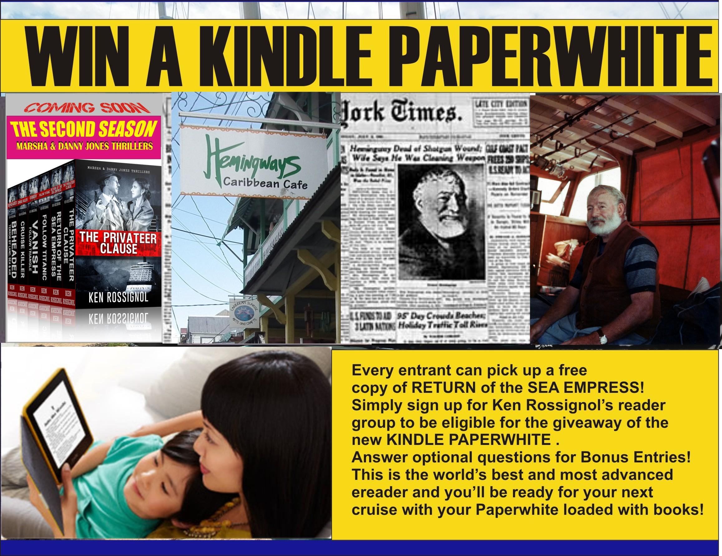 Win Paperwhite Hemingway