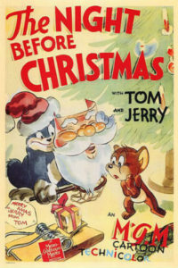 The Night Before Christmas - Tom & Jerry poster