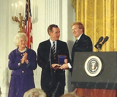 President George H. W. Bush and My Ten Dollar Suit