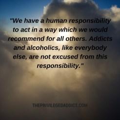 Human Responsibility