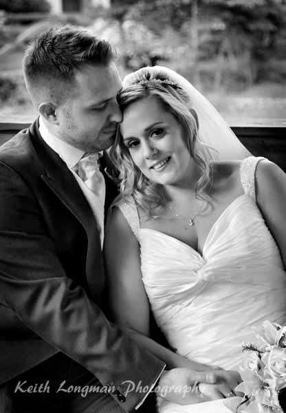 Lisa and Daz on our wedding day - Love