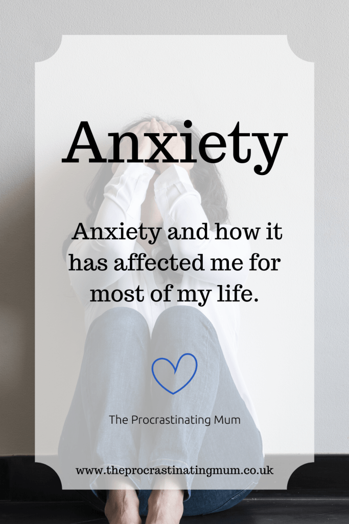 Anxiety Pinterest pin