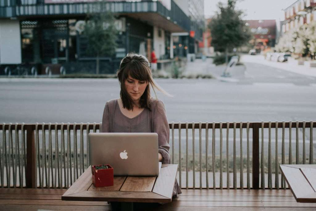 Benefit of Flexible working means you can work anywhere