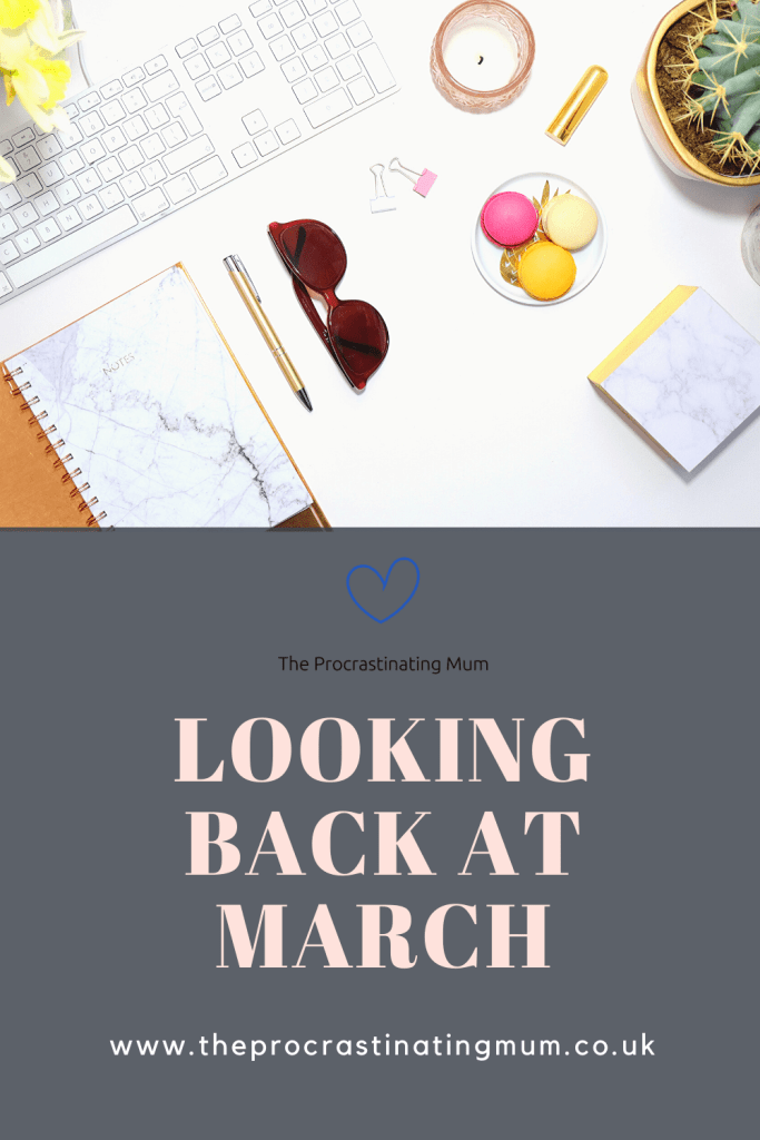 Looking back at March Pinterest Pin