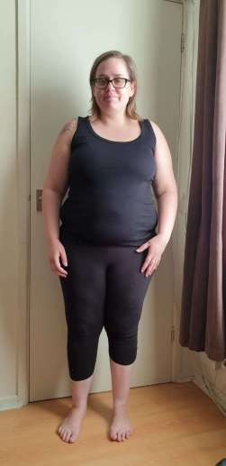 My weight - Before picture