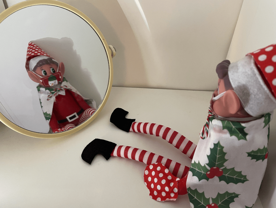Elf on the Shelf Ideas - Dressing Up Time for Elvis!