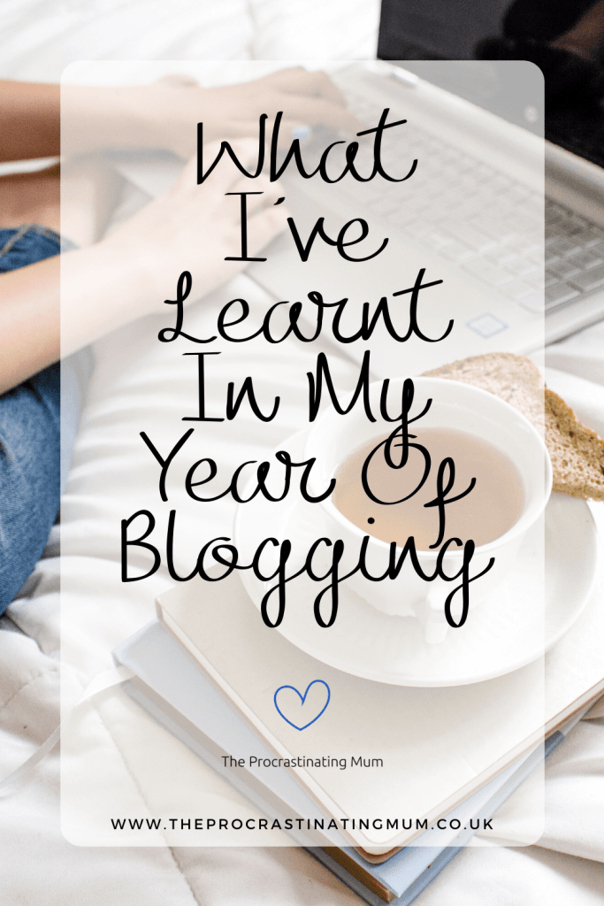 What I've Learnt In My Year Of Blogging