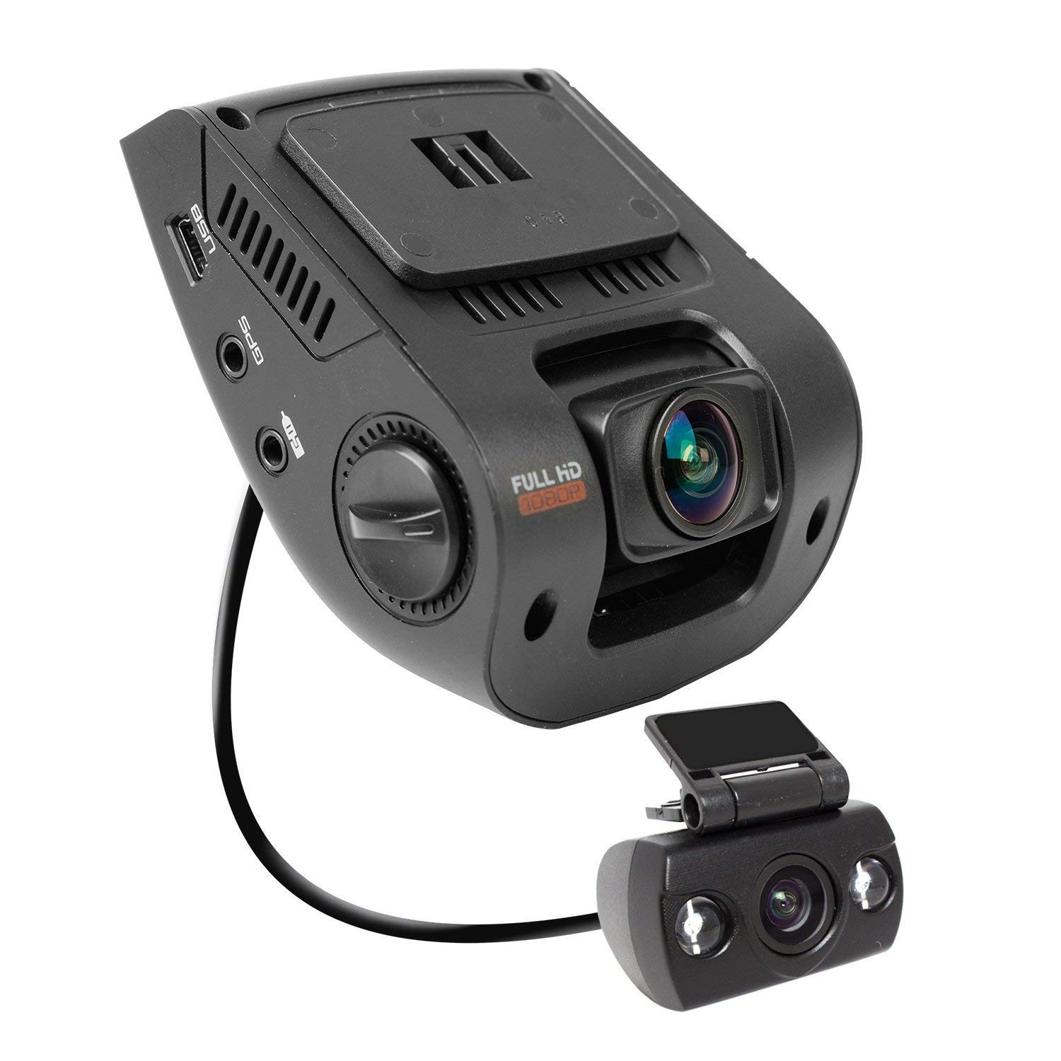 170 Degree Wide Angle Dashboard Camera Recorder 2.4 Inch LCD FHD 1080p