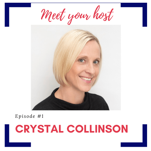 1st episode of TPD with host Crystal Collinson titled Welcome to The Productive Designer-Who & Why