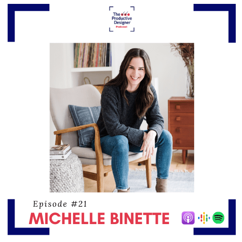 TPD episode Simulcast with Michelle Binette of the Real Talk Design