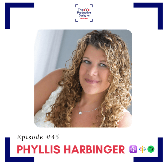 Phyllis Harbinger as guest in the episode titled TPD Chats with Phyllis Harbinger the author of The Interior Design Productivity Toolbox