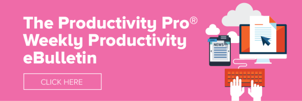 Productivity ebulletin