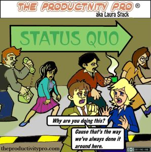 Wait a Minute Here: Promoting a Team Culture That Questions the Status Quo by Laura Stack #productivity
