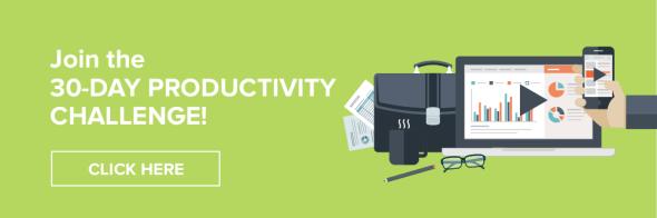 30-day productivity challenge
