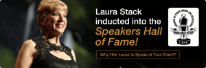 Laura Stack inducted into the Speakers Hall of Fame