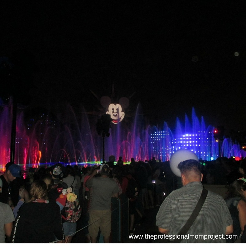 Fireworks at Disney - Our Top Tips for Travelling to Disneyland from The Professional Mom Project