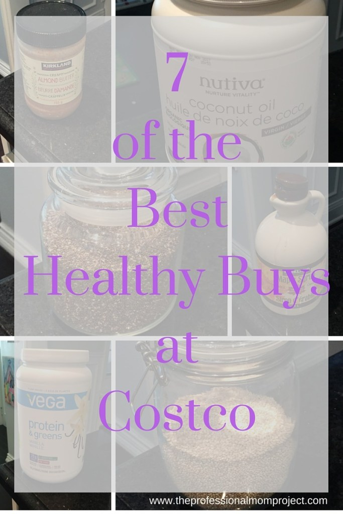 Look no further to find 7 of the best healthy buys at Costco from The Professional Mom Project
