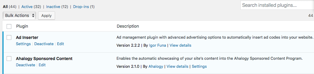 How to search for new wordpress plugins