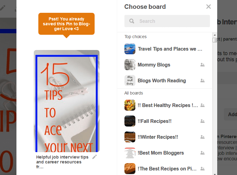 which board to pin on Pinterest for Beginners