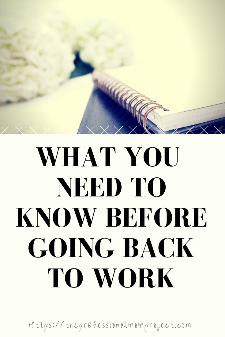 How to Successfully Go Back to Work After Baby