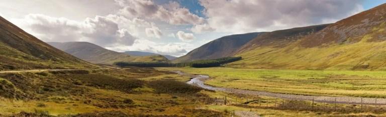 the professional traveller a9 scottish highlands