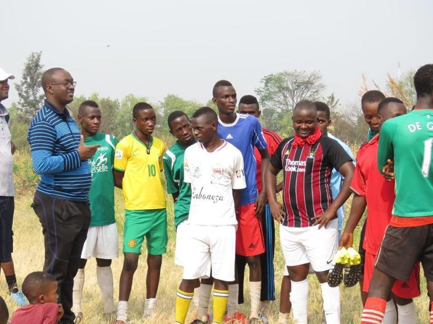 Street Child World Cup New Generation team from Burundi