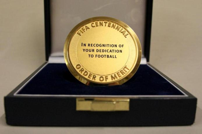 Fifa Centennial Order of Merit –'In Recognition of your Dedication to Football'