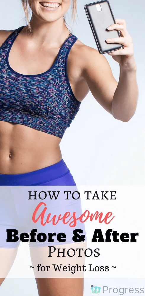 Losing weight? Check out this guide on how to take awesome before and after photos during your weight loss | Progress App