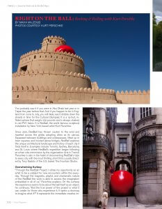 Oasis Magazine Interview - Beirut, Lebanon