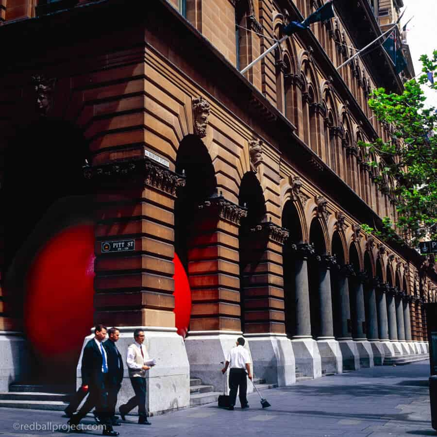 Pitt St Downtown Sydney for RedBall Sydney