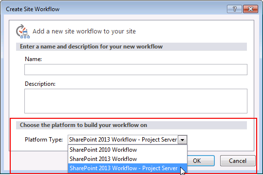 Threeplatforms - Workflows for project server 2013