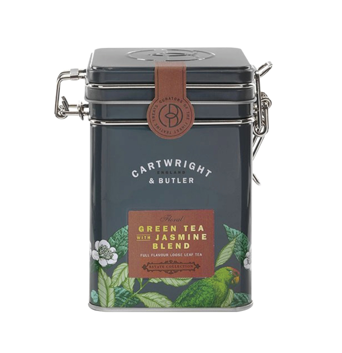 Cartwright and Butler Loose Green Tea and Jasmine in Caddy 70g