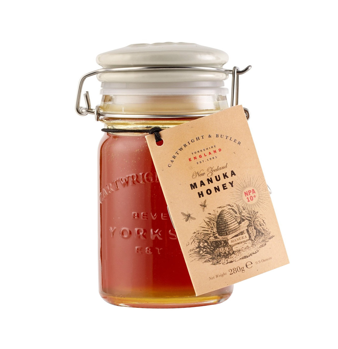 Cartwright and Butler Manuka Honey 10+ 280g