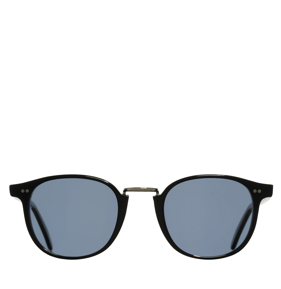 Cutler and Gross 1007B Round-Frame Black Acetate 50 Γυαλιά Ηλίου