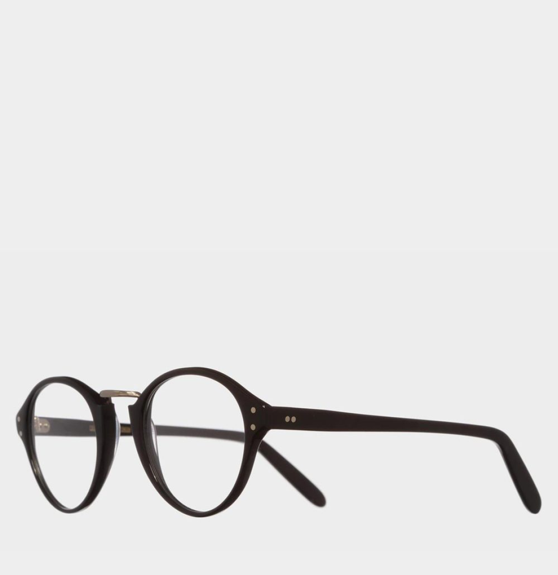 Cutler and Gross Oval-Frame Black Acetate Γυαλιά Οράσεως