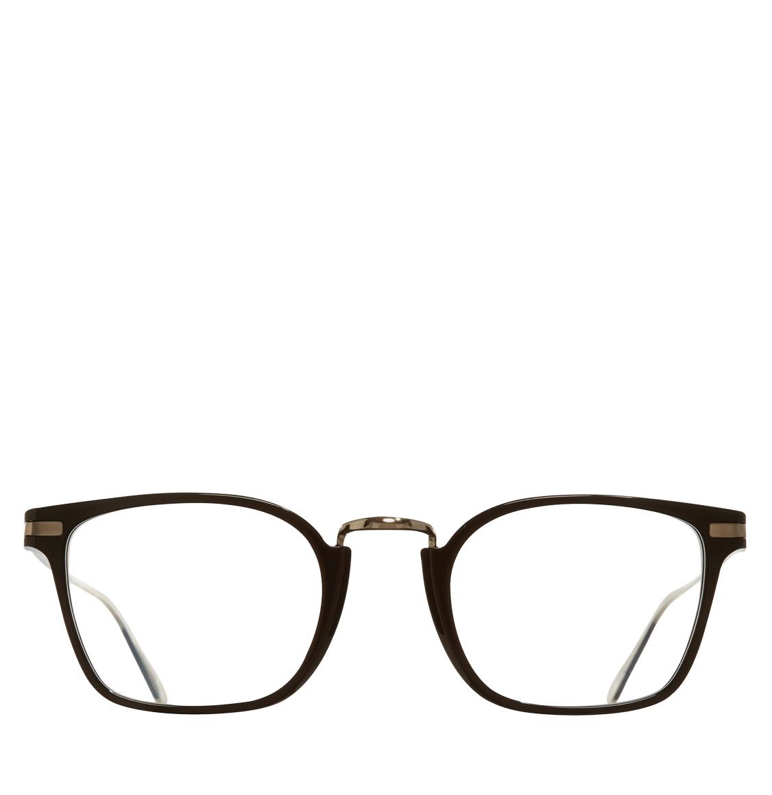 Cutler and Gross Square-Frame Black Betatitanium Γυαλιά Οράσεως