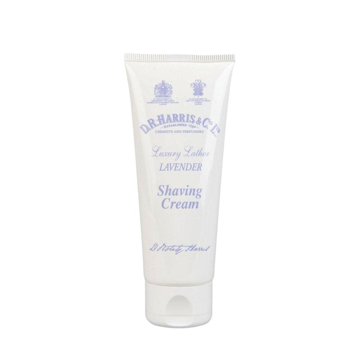 D R Harris Lavender Shaving Cream 75ml