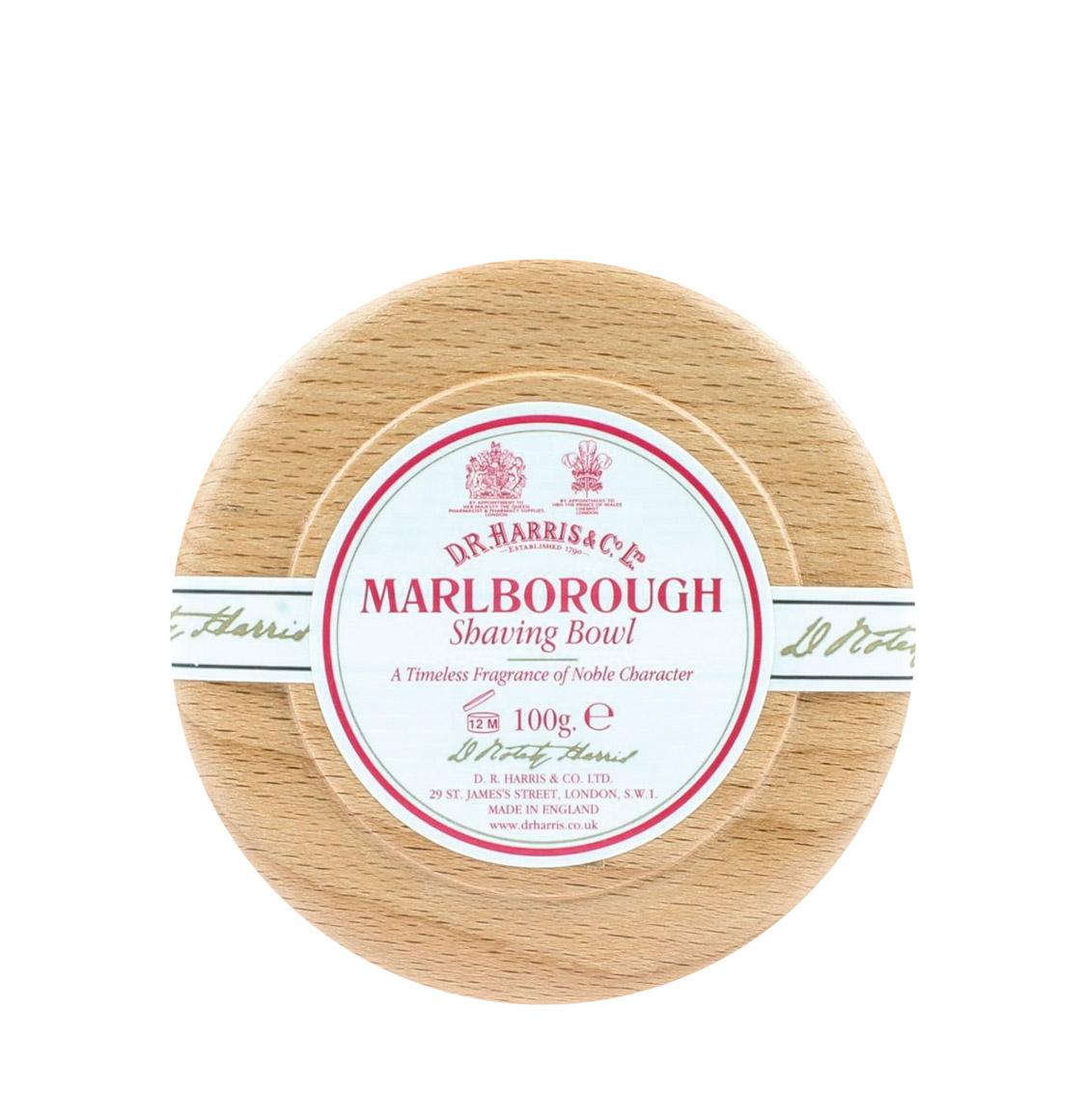 D R Harris Marlborough Shaving Beech Bowl 100g