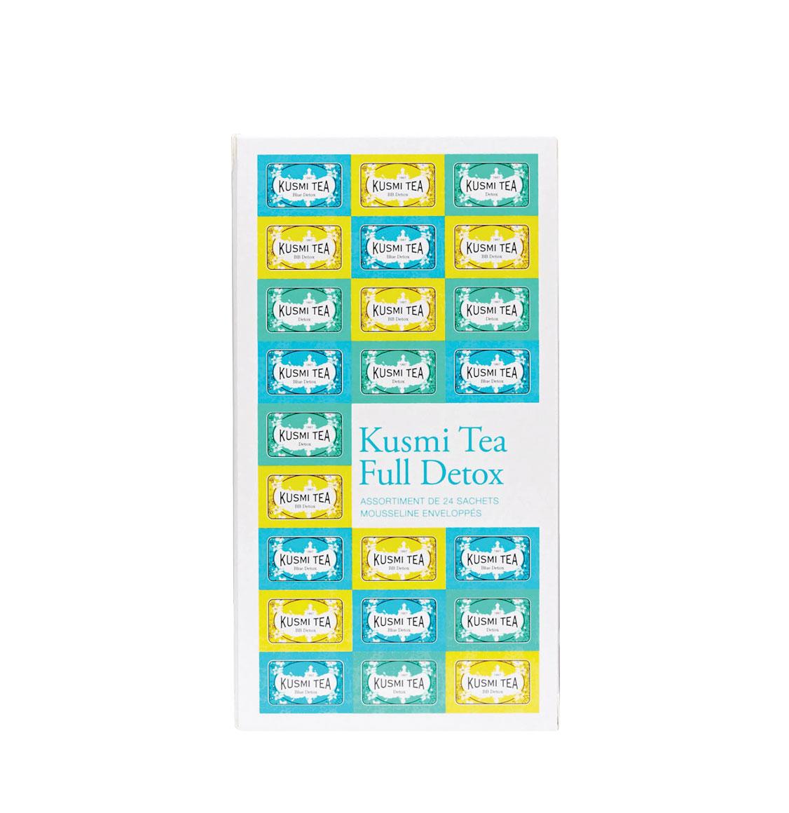 Kusmi Tea Full Detox Tea Bags Assortment 24 Φακελάκια