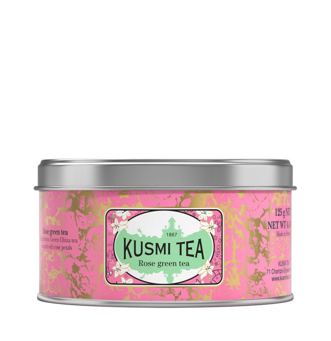 Kusmi Tea Rose Green Tea 125g