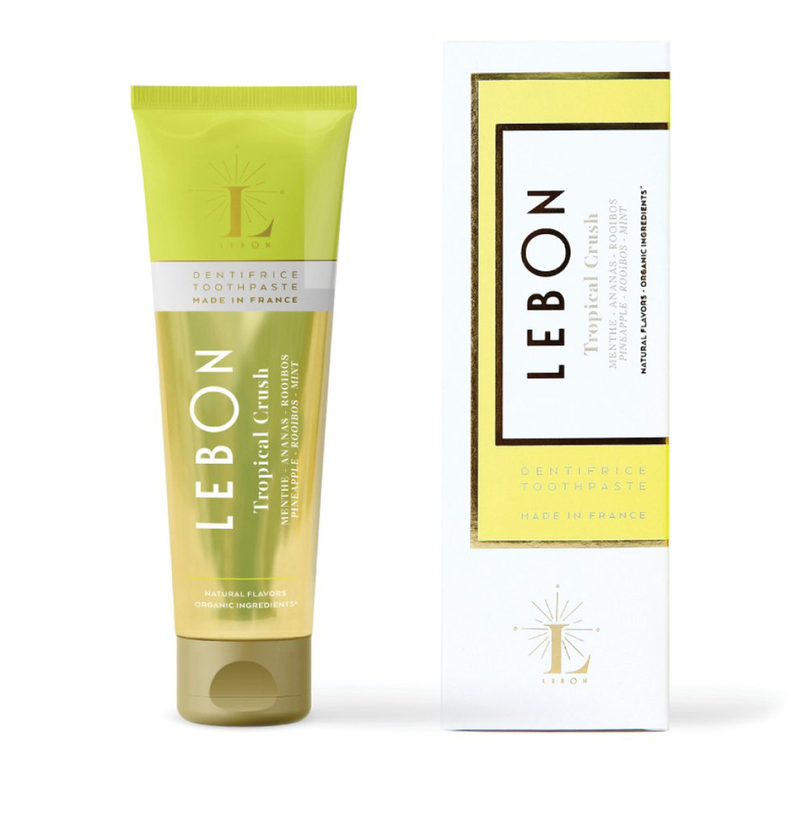 Lebon Pineapple Rooibos Mint Toothpaste 75ml