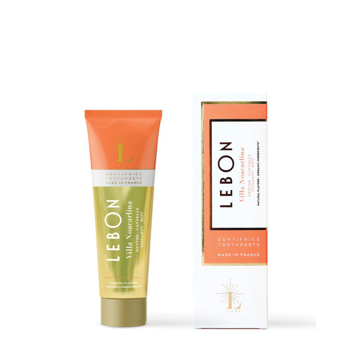 Lebon Cinnamon Mint Toothpaste Travel Size 25ml
