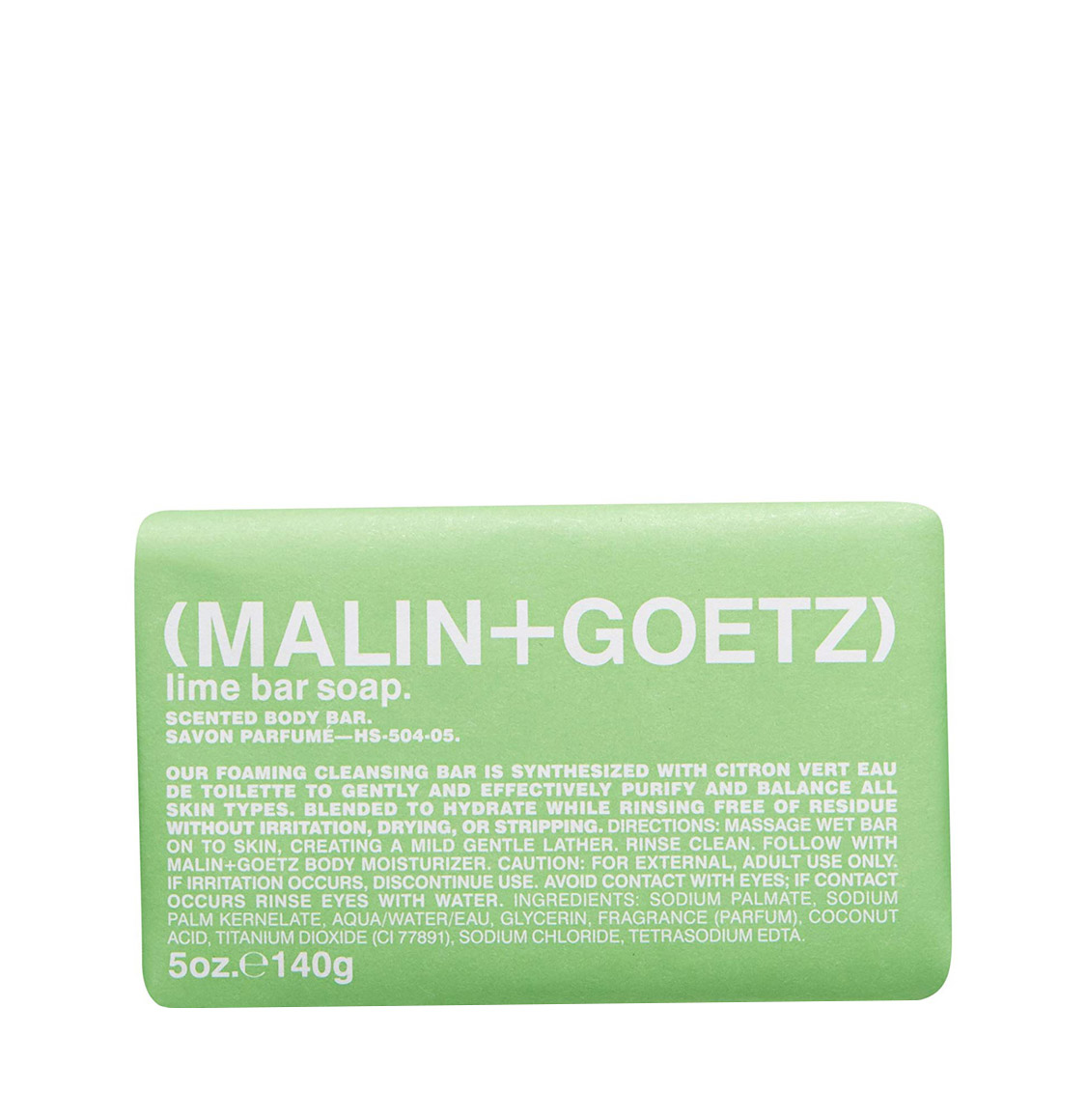 Malin and Goetz Lime Bar Soap 140g